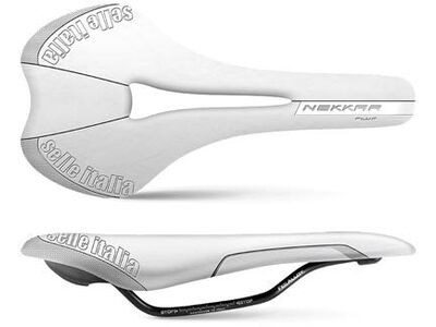 SELLE ITALIA NEKKAR Plus Flow White (S2)